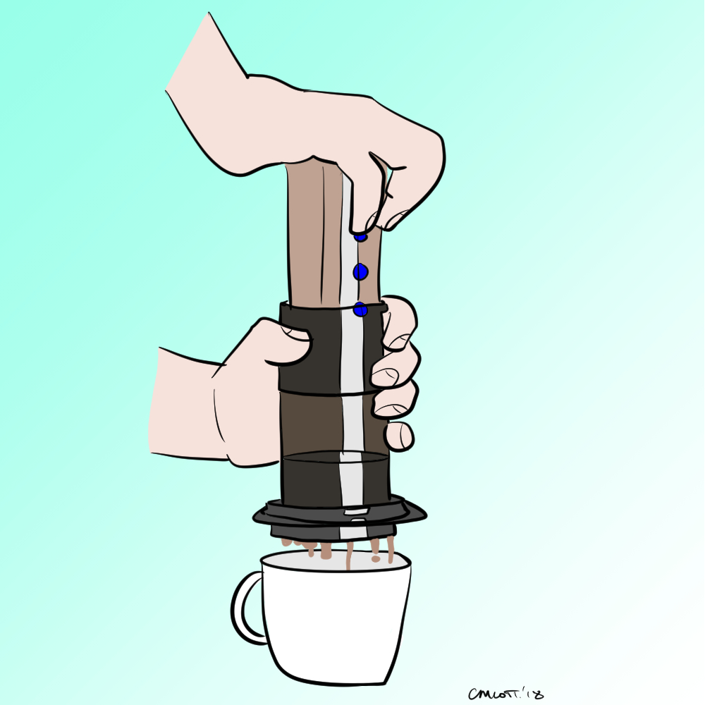 aeropress machine